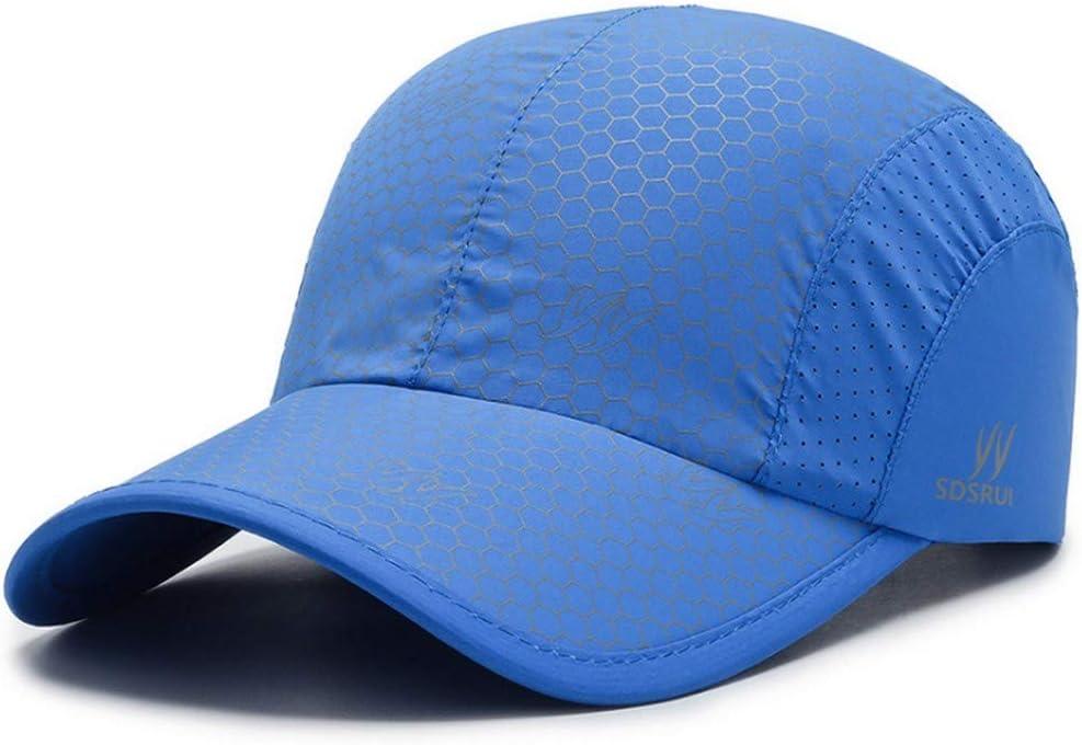 Clape Schnelltrocknende Baseball Cap Sommer Ultrad/ünne Laufm/ütze Verstellbar M/ütze UV-Schutz Schirmm/ütze Kappe
