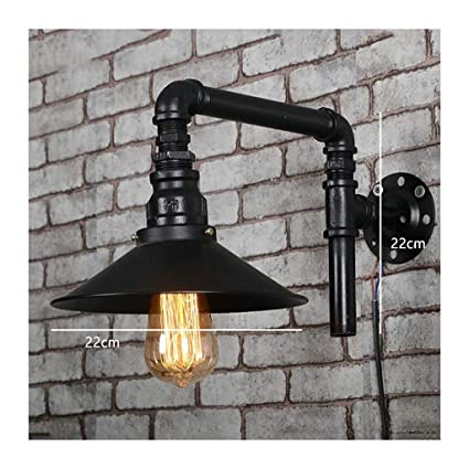 Lampe De Chevet Mural Retro Style Industriel Fer Cafe Light