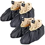 LINKEASE Reusable Boot & Shoe Covers Water Resistant Non Skid and