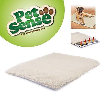 Alfombra térmica para mascotas, alfombra, auto calefacción, lavable, lujosa manta acogedora, 64 x 46 cm, de Petsense Magic: Amazon.es: Productos para ...