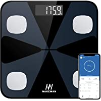 Body Fat Scale, Nakewan Smart BMI Scale Digital Bathroom Health Weight Monitor, Wireless Weight Scale, Body Composition…