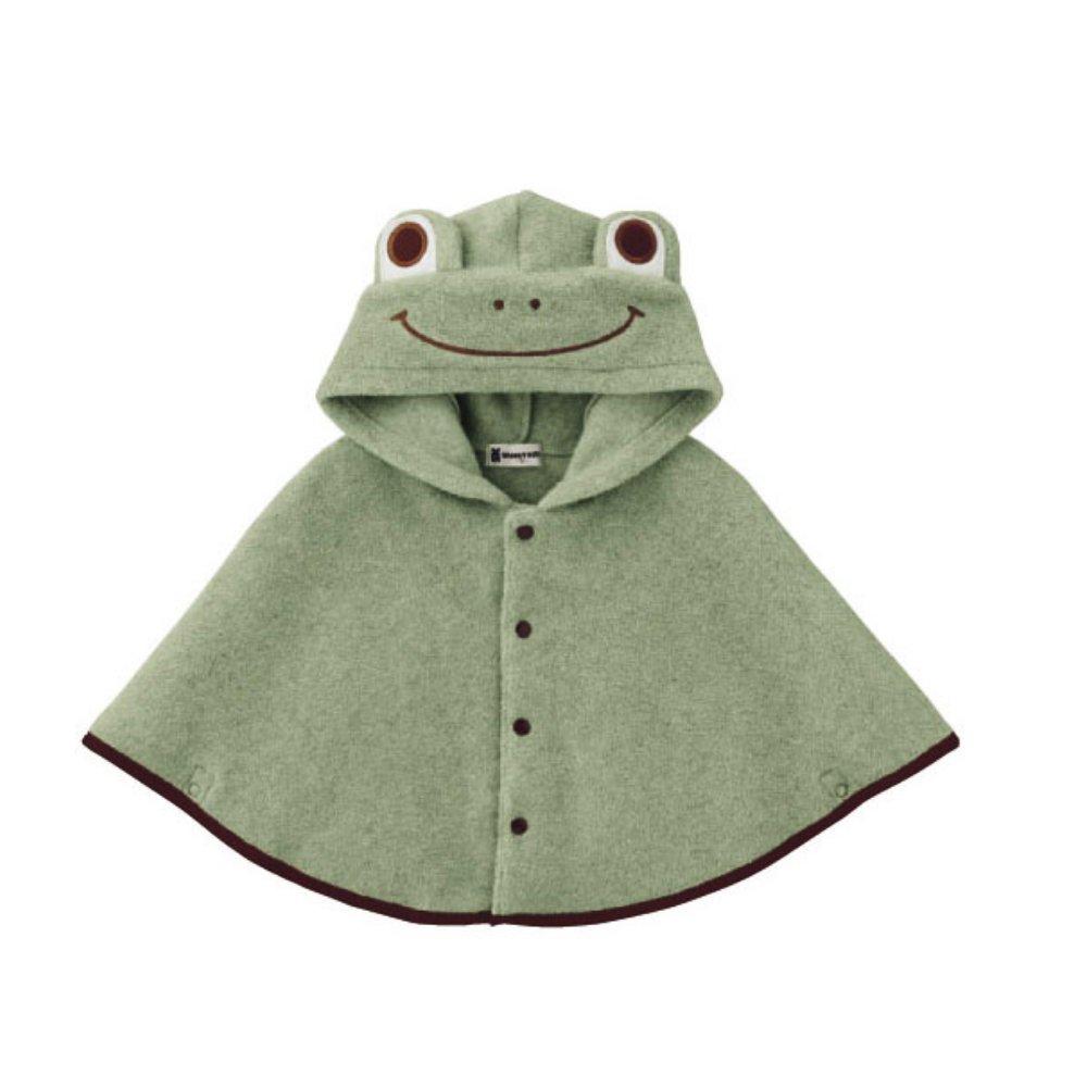 Baby Girl Clothes Cloak Fashion Kids Warm Poncho Frog Hood Cape Coat Snowsuit coffled iek690018001mayeight