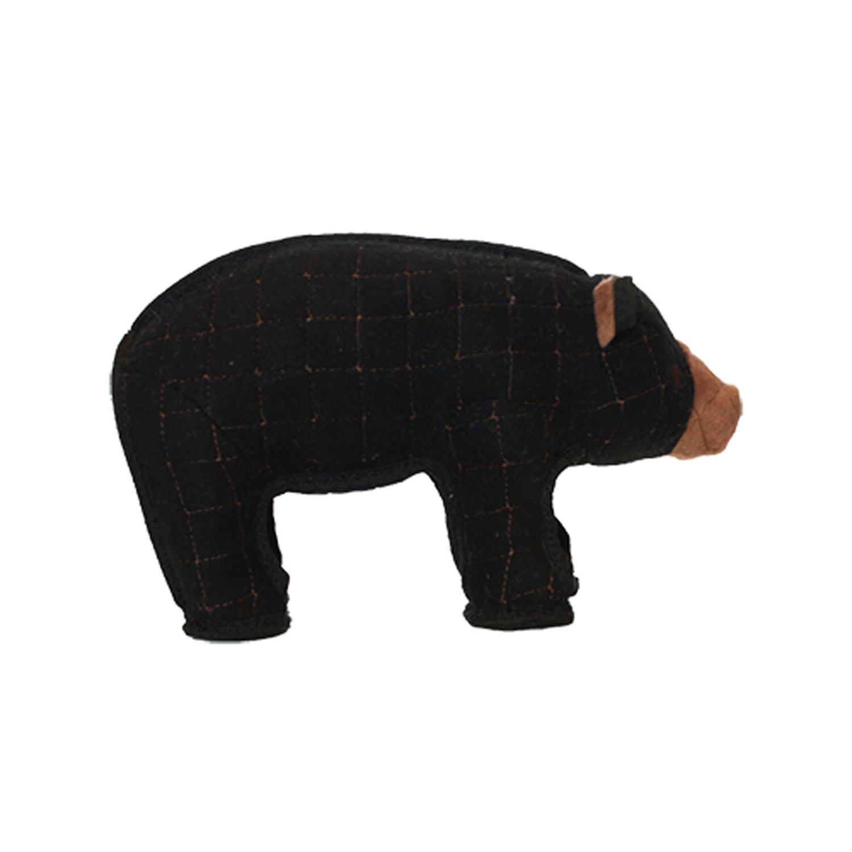 Large Tuffy Beaufort Bear Zoo Dog Toy