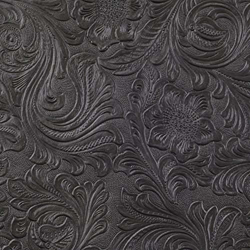 - Tolex Amplifier Cabinet Covering, Black Country Western, 18