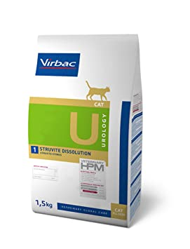 HPM Dieta para gatos U1-cat urology struvite dissolution problemas urinarios: Amazon.es: Productos para mascotas