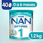 Nestle Nan Fórmula Infantil 1 Optipro, 1.2kg, Pack of 1