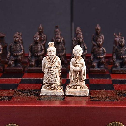 juman634 - Juego de ajedrez pequeño Retro para Juegos de Mesa de ...