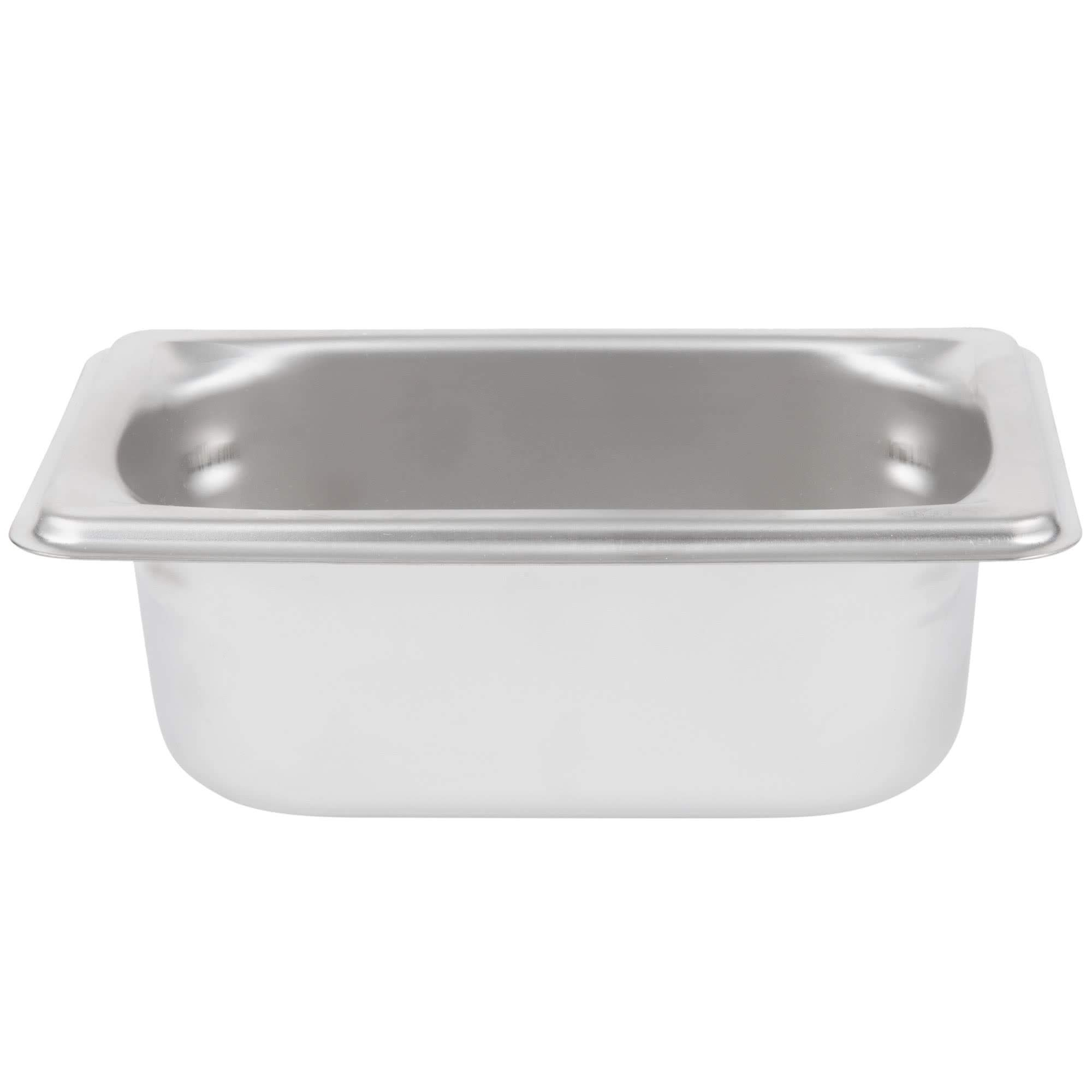 TableTop King 90922 Super Pan 3 1/9 Size Anti-Jam Stainless Steel Steam Table/Hotel Pan - 2 1/2'' Deep by TableTop King