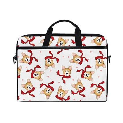 c6b7f1b56ed8 Amazon.com: Decoration Zero ChristmasHandbag Laptop Briefcase, Multi ...