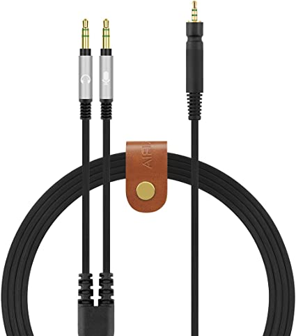 Game Zero 2m//6.6ft PC 373D GSP 500 GSP 350 Replacement Audio Cable Compatible with Sennheiser Game ONE GSP 600 Gaming Headsets
