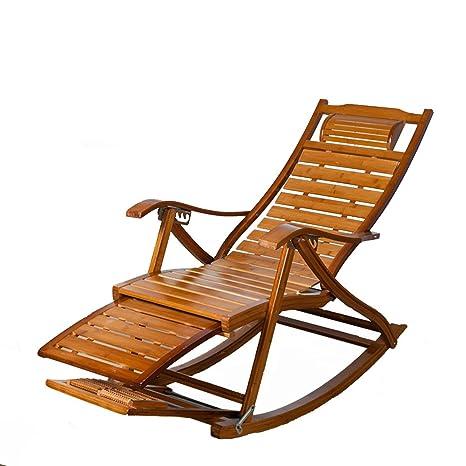 L&J Sillas mecedoras, Portátiles Plegables sillas de Patio ...