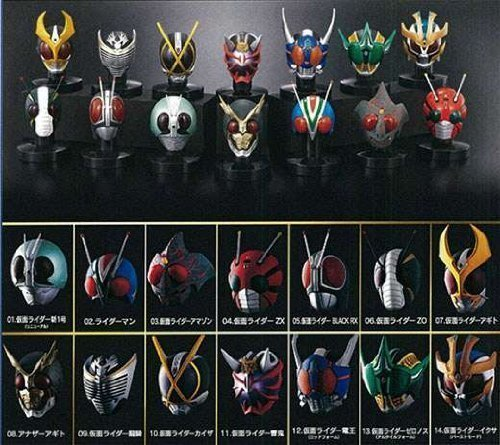 Kamen Masked Rider Mask Collection Vol.3 case of 8