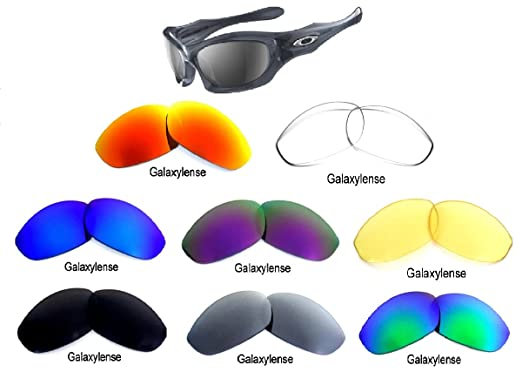 51aca91d8e Image Unavailable. Image not available for. Color  Galaxy Replacement Lenses  For Oakley Monster Dog ...
