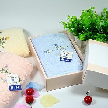 ZHFC Algodón toalla sola carga regalo de la boda cambio regalo unidad Bienestar premios,Caja