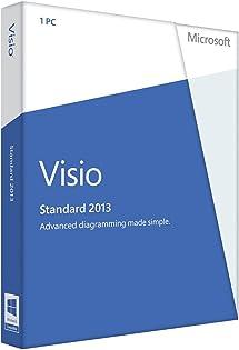 Microsoft Visio Standard 2013 Key Card (No Disc)