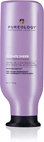 Pureology | Hydrate Sheer Moisturizing Conditioner | For Fine, Color Treated