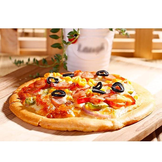 Bandeja de Pizza para Horno Bandeja de Pizza Pizza Redonda Red de ...