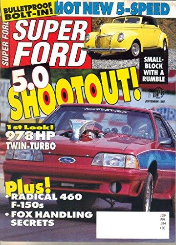 Super Ford Magazine, September 1992 (Vol. 17, No. - Ford Tom Dallas Store