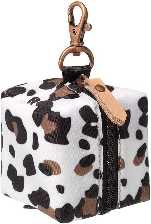 Portachupetes de Leopardo con capacidad para m/ás de un Chupete de Petunia Pickle Bottom