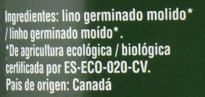 Granovita Lino Germinado Molido Bio - 500 gr: Amazon.es: Salud y cuidado personal