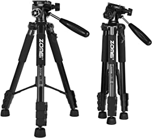 ZoMei Z666 Portable Travel Camera Tripod...