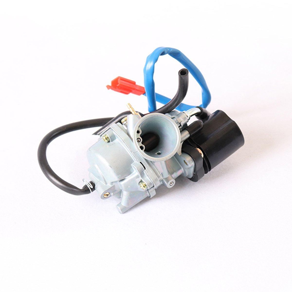 RMAN Carburateur de tuning 17, 5 mm avec E-Choke pour Yamaha AEROX AXIS JOG MBK NITRO OVETTO