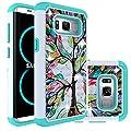 Samsung Galaxy S8 Case,Berry Accessory Studded Rhinestone Crystal Bling Hybrid [ Dual Layer ] Armor Case Cover for Samsung Galaxy S8 from Berry Accessory(TM)