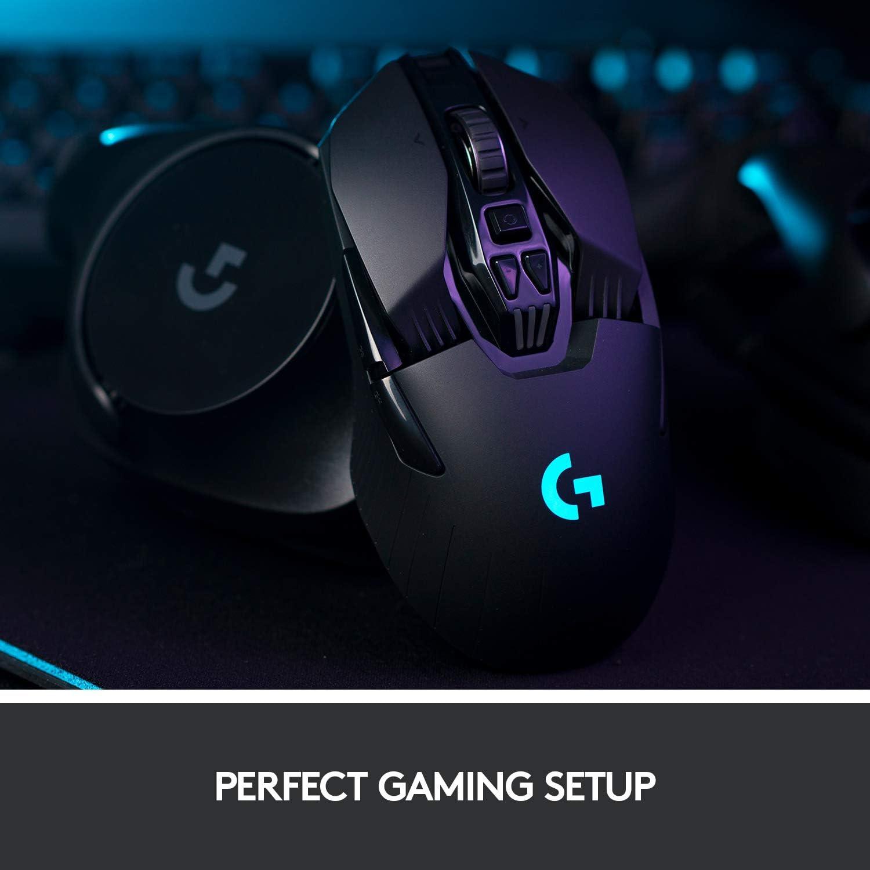 Logitech G903 Lightspeed Wireless Gaming Mouse gaming setup