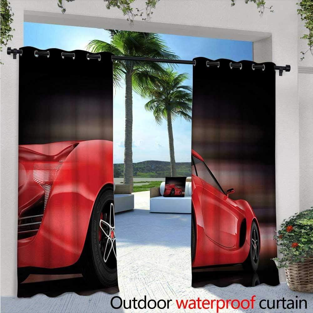 BlountDecor - Cortina Impermeable con Ojales para Coches, diseño ...