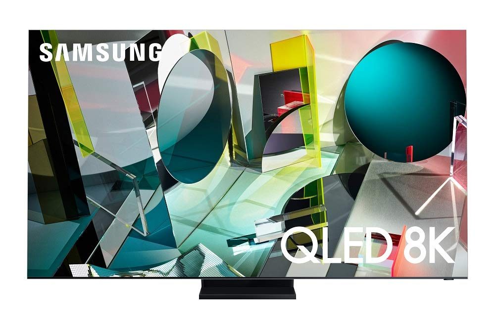 SAMSUNG 85-inch Class QLED Q950T Series - Real 8K Resolution Direct Full Array 32X Quantum HDR 32X Smart TV with Alexa Built-in (QN85Q950TSFXZA, 2020 Model)