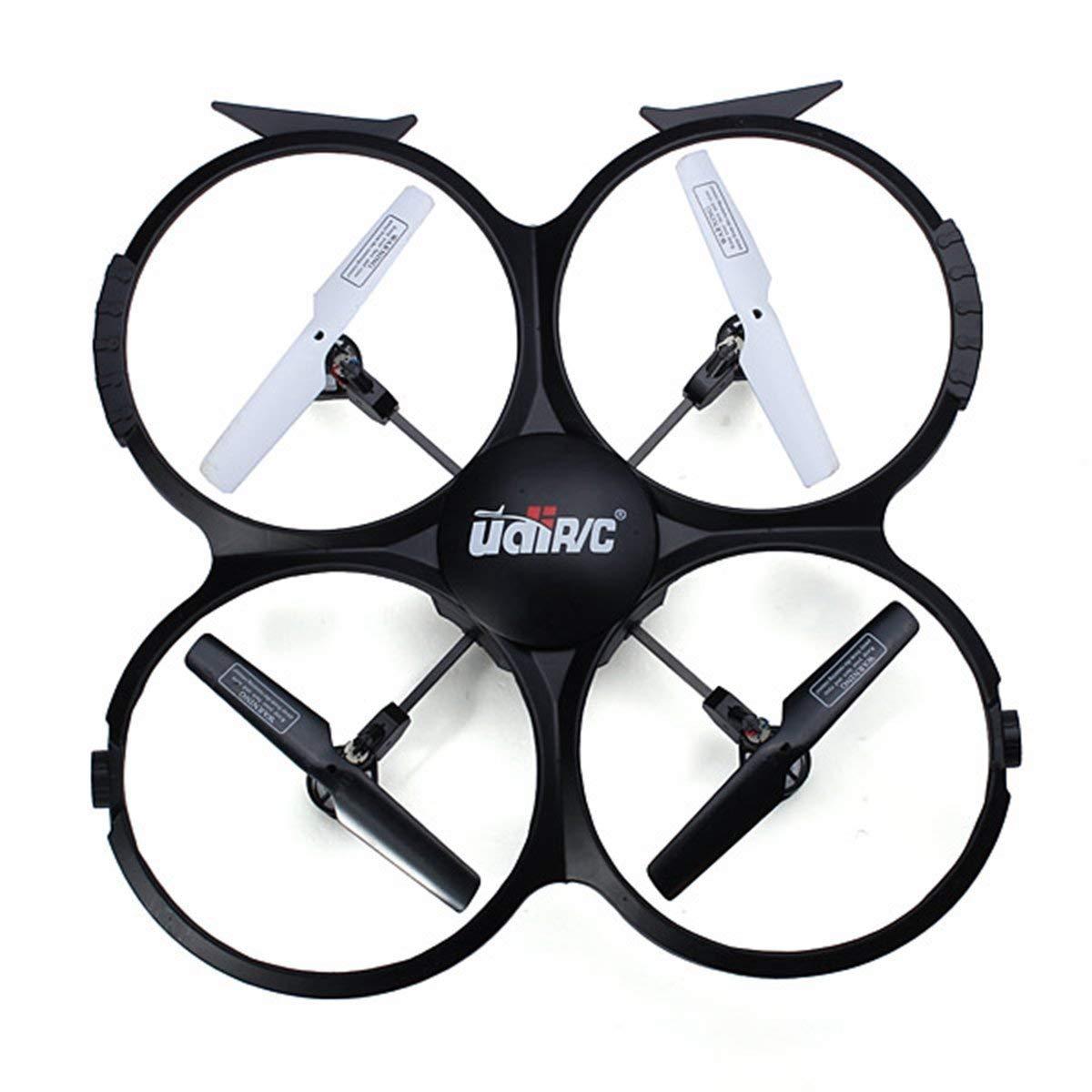 Daye Drohne mit Kamera UDI U818A-HD 2,4 GHz 4 CH 6 AXIS RC Quadcopter Drohne 720P HD Videokamera, Return Home Headless-Modus-Funktion