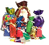 *New* Gift Mate 74-Piece Holiday Drawstring Gift Bag Set