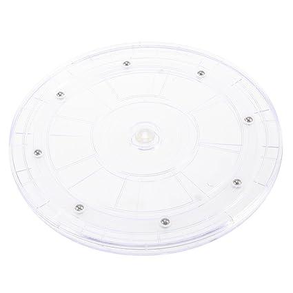 OUNONA - Bandeja giratoria de plástico para Armario de Cocina o encimera, 22,86