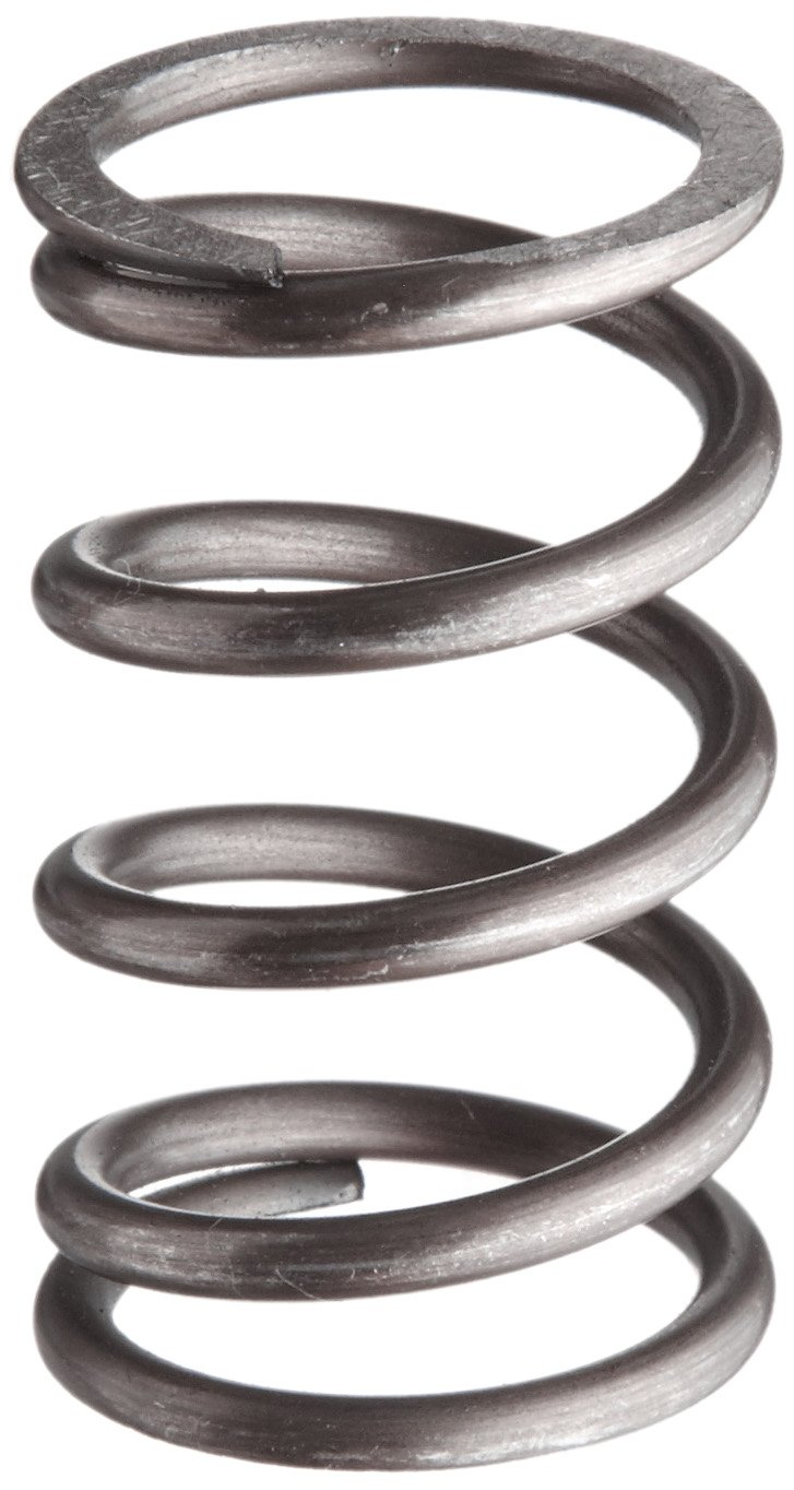 Music Wire Compression Spring Steel Metric 22.5 mm OD 2.5 mm Wire Size 63.6 mm Compressed Length 175 mm Free Length 292.25 N Load Capacity 2.69 N mm Spring Rate Pack of 10