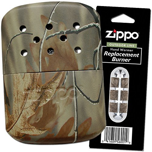 (Zippo Realtree Camo Refillable Hand Warmer & Additional Burner (1 & 1))