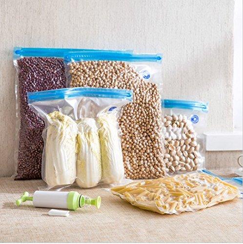 ust Type Refrigerator Food Storage Basket 5 Sets + One Pump (Refrigerator Exhaust)