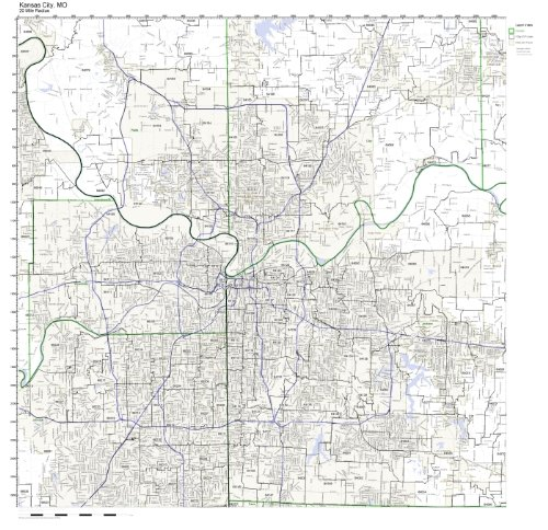 Kansas City, MO ZIP Code Map - Zip Kansas