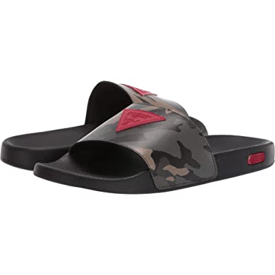 GUESS Ion Green Multi (Camo) 12 | Sandals