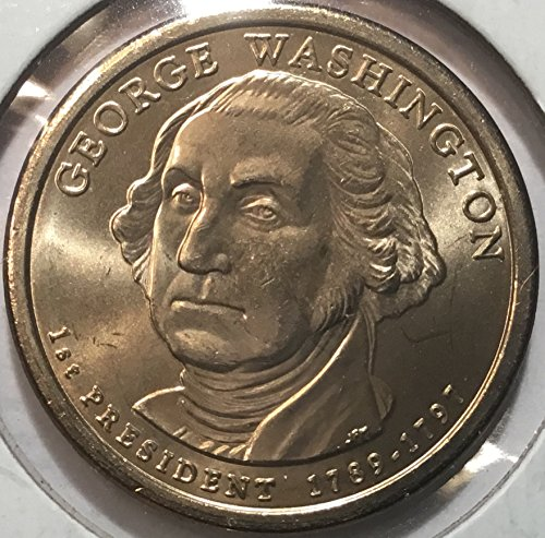 2007 First President George Washington Dollar Nearly Choice Brilliant Uncirculated NGC