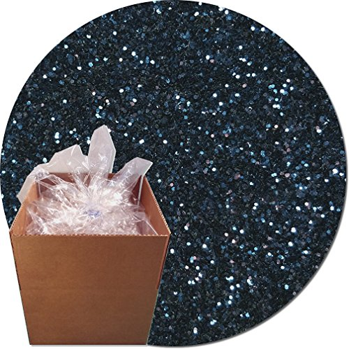 Glitter My World! Craft Glitter: 25lb Box: Midnight Blue by Glitter My World!