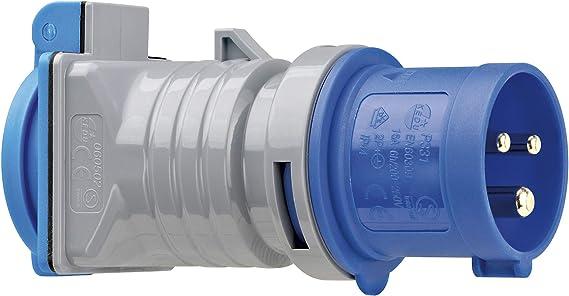 Brennenstuhl Cee Adapter Schuko Stecker Cee 230 V 16 A Steckdose Schutzkontakt 230 V 16 A Ip44 Baumarkt