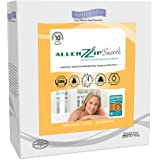 AllerZip Smooth Waterproof Bed Bug Proof Zippered Bedding Encasement, Queen, (Fits 12 - 18 in. H)