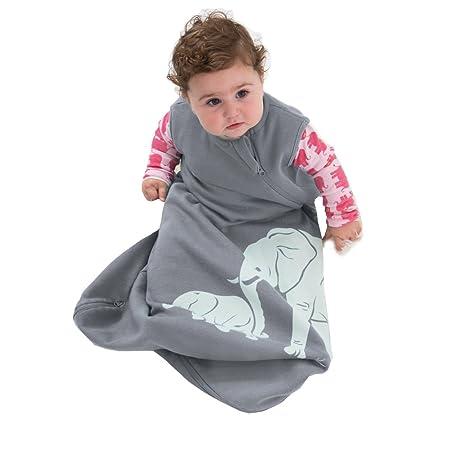 63f94562837e Wee Urban Baby Sleeping Bag - Grey Elephants  0-6 months  Amazon.co ...