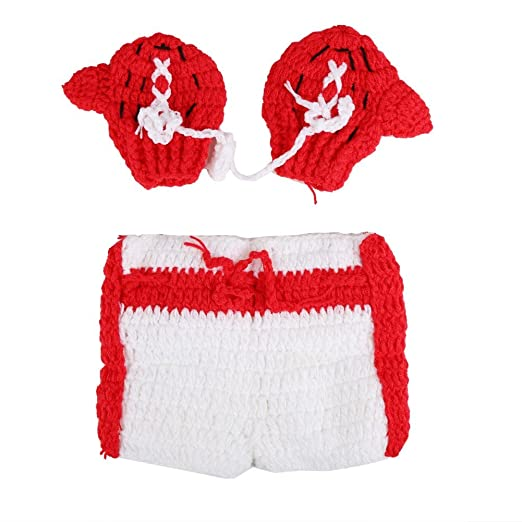 Amazon Com Pellor Newborn 3 6 Months Baby Knitted Boxing Gloves
