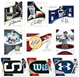 2017 Panini Immaculate Baseball Hobby Box (1 Pack of 6 Cards: 5 Autographs or Memorabilia and 1 Base