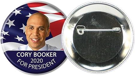 Presidential Hopeful Cory Booker Campaign Button BOOKER-702