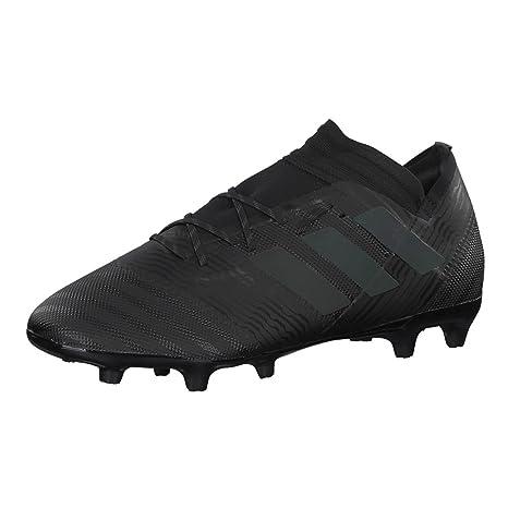 Adidas nemeziz 17.1?FG BLACK, CBLACK/CBLACK/HIREGR, 40 2/3
