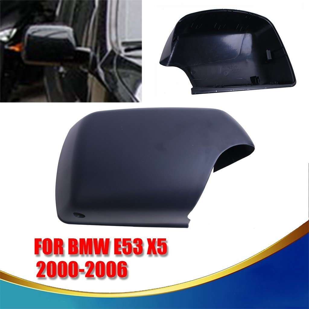 Espear FOR BMW E53 X5 2000-2006 Right Door Mirror Cover Cap With LED Step Light Hole