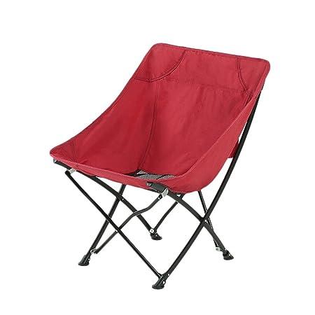 Bearing 120kg Lounge Chairs Folding Chair Moon Chair ...