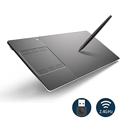 Huion WH1409 13 8 x 8 6 Inch Wireless Graphics Drawing Pen